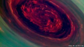 Olho do furacão (foto: Nasa)