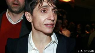 """Маша Гессен на открытии клуба """"Река"""""""