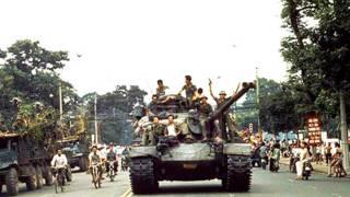 Quân đội Bắc Việt tiến vào Sài Gòn