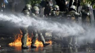 Protestos no Chile (AFP)
