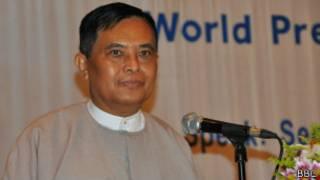 Information Minister U Aung Kyi