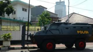 အင်ဒိုနီးရှားရှိ မြန်မာသံရုံး လုံခြုံရေးချထားစဉ်