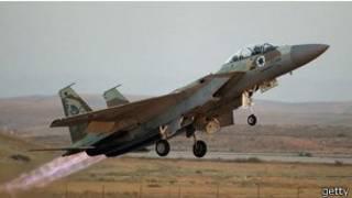 Израильский военный самолет