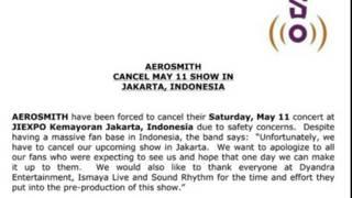 Surat Aerosmith
