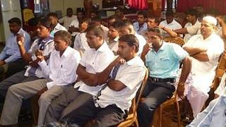 SLMC supporters in a meeting in Vavuniya (file photo)