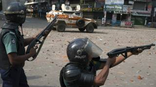 Clashes in Bangladesh