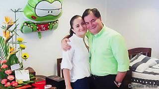 Roger Pinto, em foto cedida por sua filha Denise