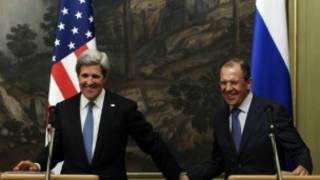 ABD ve Rusya dışişleri bakanları John Kerry ve Sergei Lavrov