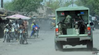 Rundunar tsaro ta hadin gwiwa JTF a jahar Borno
