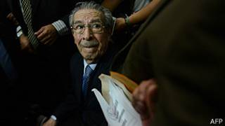Efraín Ríos Montt. Foto: Getty Images.