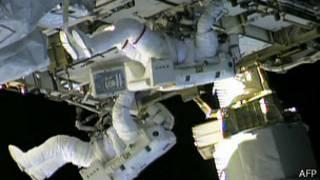 Astronautas en la EEI