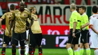 An tsayar da wasan AC Milan da Roma saboda rera wakokin wariyar launin fata