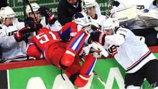 Россия США хоккей