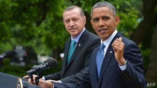 Recep Tayyip Erdogan y Barack Obama