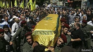 Funeral de Hezbolá en Beirut