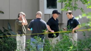 Агенты ФБР у дома Тодашева