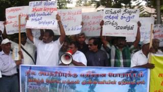 இலங்கை அரசின் காணியெடுப்புக்கு எதிரான ஆர்ப்பாட்டம் (ஆவணப்படம்)