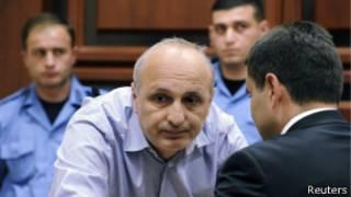 Мерабишвили в зале суда