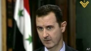 सीरियाई राष्ट्रपति बशर अल असद