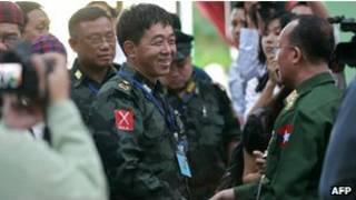 Kachin Peace talks in May 2013