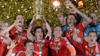 Bayern Muenchen menang Liga Champions