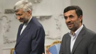 احمدی نژاد و جلیلی