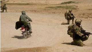 আফগানিস্তানে ব্রিটিশ বাহিনীর অভিযান।