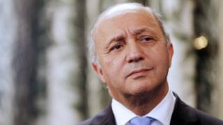 Ministan harkokin wajan Faransa, Laurent Fabius