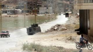 دوريات الجيش اللبناني في عرسال