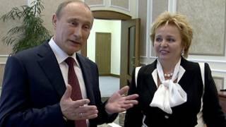 Vladimir Putin va sobiq rafiqasi Lyudmila