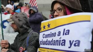 Manifestación por la ciudadanía