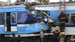 Choque de trenes en Argentina