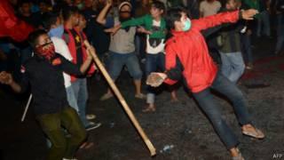 Unjuk rasa di DPR