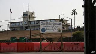 Complejo legal en la Estación Naval de Guantánamo
