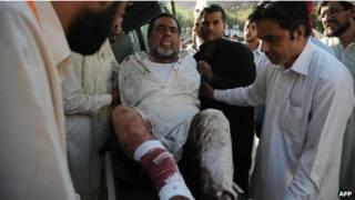 انفجار في مارادان بباكستان