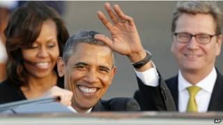 Tổng thống Barack Obama tại Berlin
