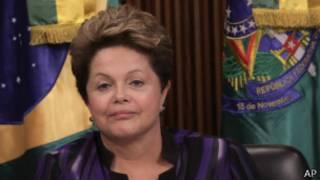 Presdidenta de Brasil, Dilma Rousseff