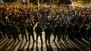 Brezilya'da gösteriler sürüyor