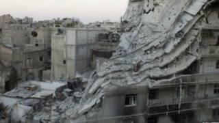 Ibitero mu mujyi wa Homs