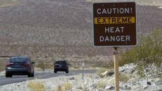 अमरीका में तपती गर्मी