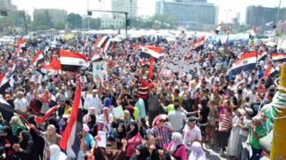 मिस्र में सरकार विरोधी प्रदर्शन