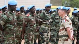 Abasirikare ba ONU ejo muri Mali