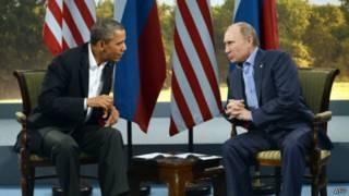 Obama và Putin gặp nhau tại hội nghị G8 hồi tháng Sáu