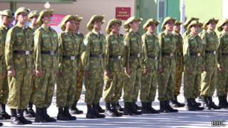 Таджикистан, солдаты