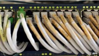 Conexões de internet - Foto: AFP