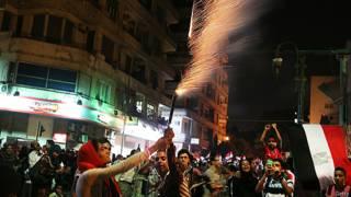 Opositores a Morsi celebran