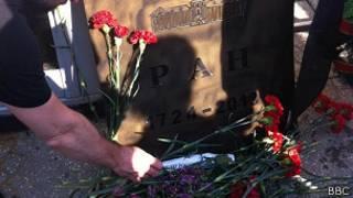 Муляж надгробия