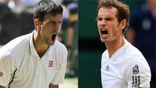 Novak Djokovic y Andy Murray