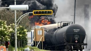 Vụ tai nạn hỏa xa ở Canada