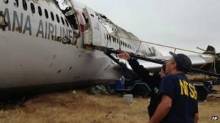 सैन फ्रांसिस्को में विमान दुर्घटना